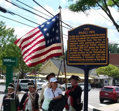 Historic Marker dedication ceremony